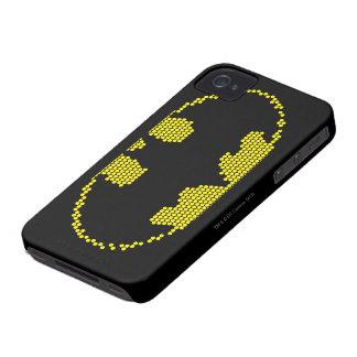 Lite-Brite Bat Emblem iPhone 4 Covers