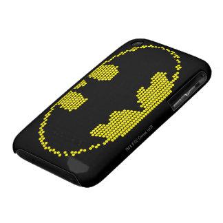 Lite-Brite Bat Emblem iPhone 3 Case-Mate Cases