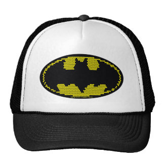 Lite-Brite Bat Emblem Trucker Hats