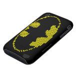 Lite-Brite Bat Emblem iPhone 3 Tough Covers