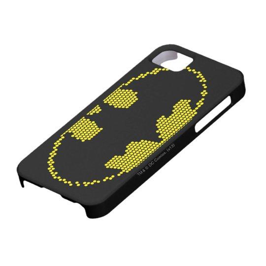 Lite-Brite Bat Emblem iPhone SE/5/5s Case