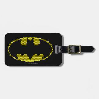 Lite-Brite Bat Emblem Tag For Bags