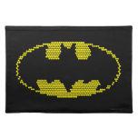 Lite-Brite Bat Emblem Placemats