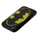 Lite-Brite Bat Emblem Tough iPhone 3 Covers