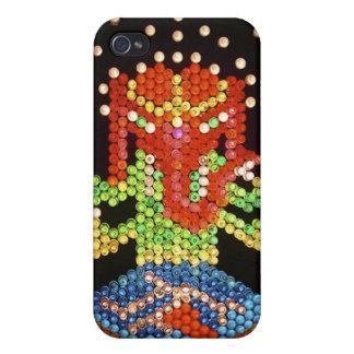 Lite Brite Ganesh Iphone Case iPhone 4 Cover