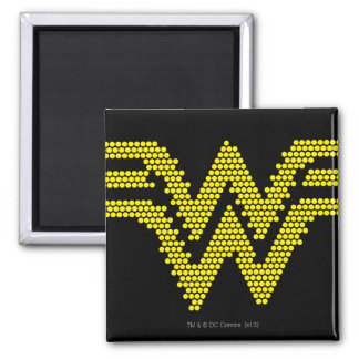 Lite-Brite WW Symbol 2 Inch Square Magnet