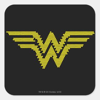 Lite-Brite WW Symbol Square Sticker