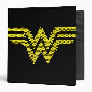 Lite-Brite WW Symbol Vinyl Binder