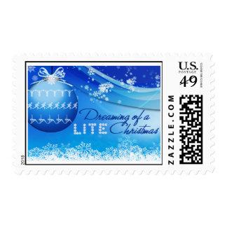 Lite Christmas Stamp