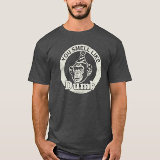 Lite on Dark You Look Like Dumb T-Shirt