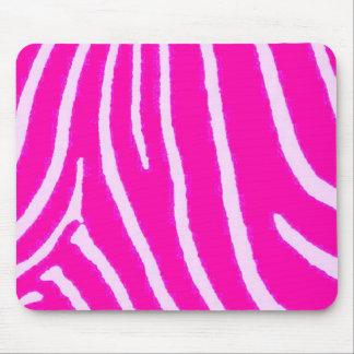 Lite Pink Zebra Print Mouse Mat
