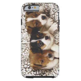 Litera de perritos funda para iPhone 6 tough