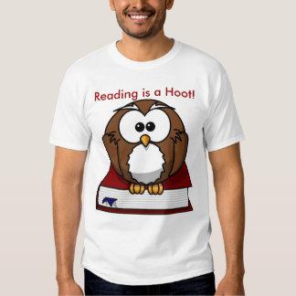 Literacy Awareness: Reading is a Hoot T-shirt
