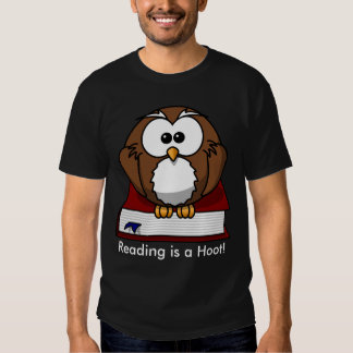 Literacy Awareness: Reading is a Hoot Tees