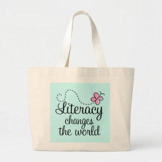 Literacy Awareness Tote Bag