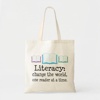 Literacy Definition Tote Bag
