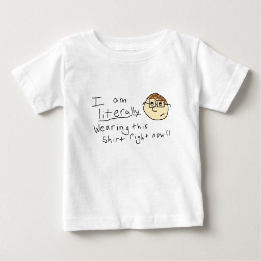 Literal Geek Baby T-Shirt