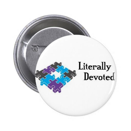 Literally Devoted Buttons