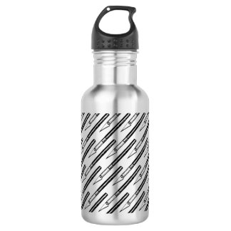 Literally Edgy - Exacto Knife Pattern Water Bottle