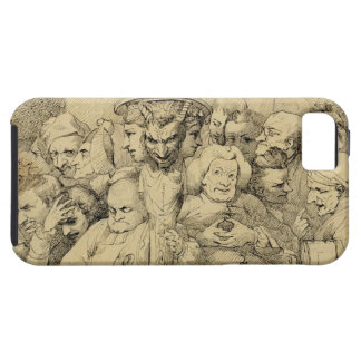 Literary Characters Assembled Around the Medallion iPhone SE/5/5s Case