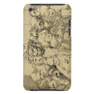 Literary Characters Assembled Around the Medallion iPod Touch Case