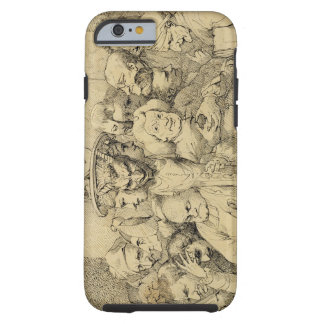 Literary Characters Assembled Around the Medallion Tough iPhone 6 Case