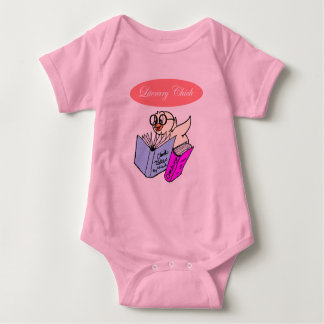 Literary Chick Baby Bodysuit