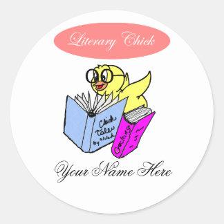 Literary Chick Bookplate