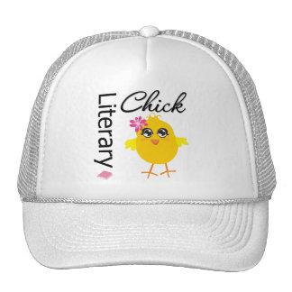 Literary Chick Trucker Hat