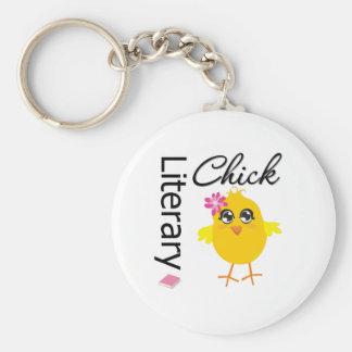 Literary Chick Keychains