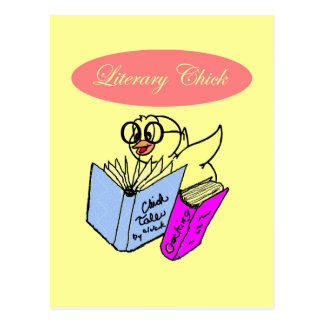 Literary Chick Postcard