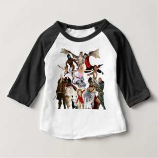 Literary Classics and Fictional Characters Dreamed Baby T-Shirt