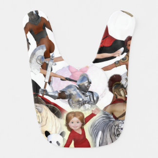 Literary Classics and Fictional Characters Dreamed Bib