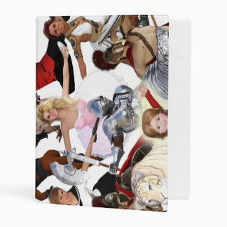 Literary Classics and Fictional Characters Dreamed Mini Binder