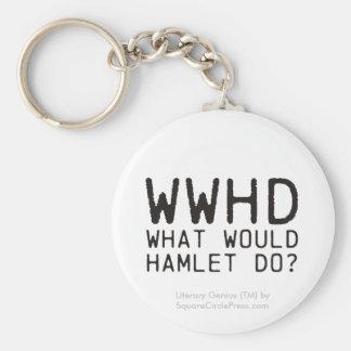 Literary Genius: Hamlet Question Keychain