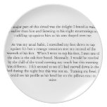 Literary Plate (Two Inches)