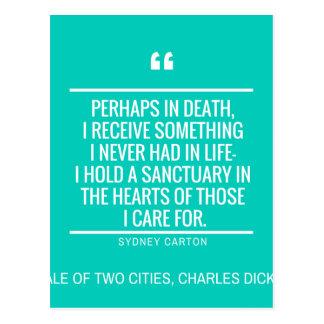Literary Quotes Classics 1 Postcard