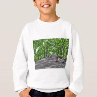 Literary Walk- Central Park, New York Sweatshirt