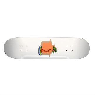 Literati Bonsai With House Bonsai Graphic Image Skateboard Deck