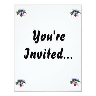 Literati Maple Bonsai Graphic Image Invite