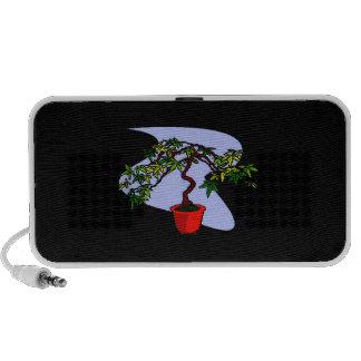 Literati Maple Bonsai Graphic Image Speakers
