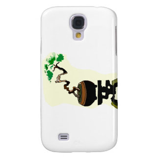 Literati Twisted in Pot on Stand Graphic Image Samsung Galaxy S4 Case