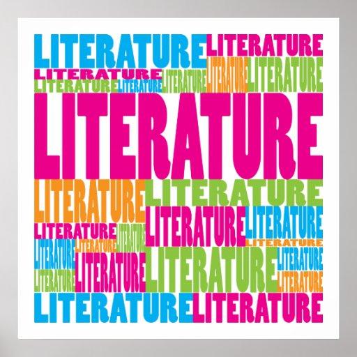 Literatura colorida impresiones
