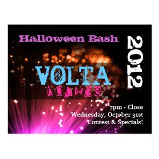 Lites & Smoke Halloween Bash Invitation/Flyer Postcard