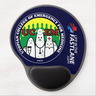 LITFL UCEM mouse pad Gel Mouse Pad