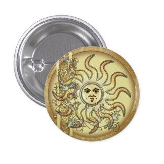 Litha Sun Celtic Style Design Buttons