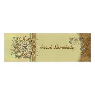 Litha Sun Skinny Profile or Business Card