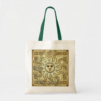 Litha Sun Tote Bags