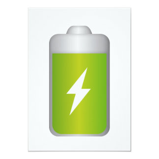 lithium-ion battery Icon Card