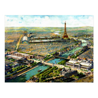 Litho maravilloso 1900 de la opinión panorámica de tarjeta postal